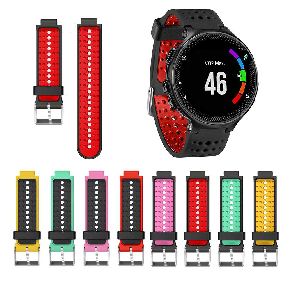 For Garmin Forerunner 220/230/235/620/630 Soft Silicone Strap Bracelet Replacement Wristband Wearable Devices Accessories garmin forerunner 230
