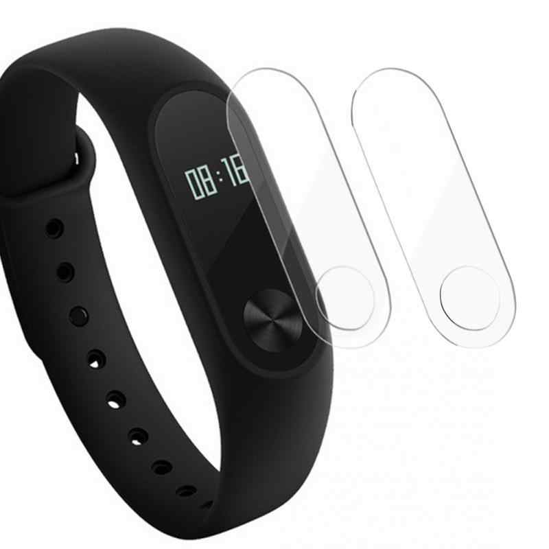 2pcs Screen Protector For Xiaomi Mi band 2 TPU Glass Film Anti Scratch For Miband 2 Smart Bracelet Wrsitband Accessory