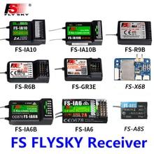 FlySky FS-R6B 2,4 GHz 6CH RC AFHDS FS R6B рецептор для i6 i10 CT6B T6 TH9x трансмиссионный пульт дистанционного управления