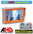 "Portable 4.3"" LTPS LCD 1080P IP Analog CCTV Camera Display AHD Monitor Tester 12V-Output with PTZ function"