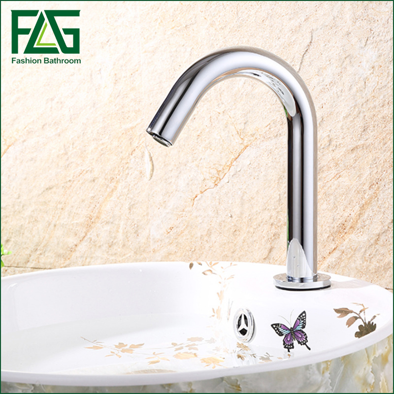 Здесь продается  FLG Basin Faucet Chrome Faucet Ceramic Plate Spool Water Saving Battery Power Automatic infrared sensor faucet  Строительство и Недвижимость