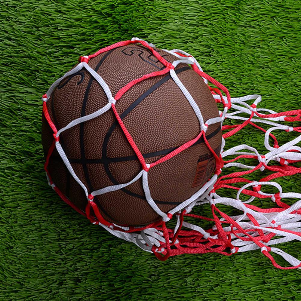 1.15 m Bola Net Artesanal Empate Saco De Armazenamento Saco de Malha de Basquete Futebol Bola Cesta Cor Aleatória