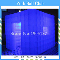 Free Shipping Advertising Inflatable Photo Booth With LED Digital Photo Booth For Sale