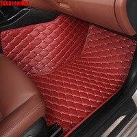 ZHAOYANHUA Car Floor Mats For Citroen C5 C4 Air Cross C2 C4L C Elysee DS5 LS
