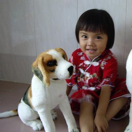 simulation animal 50cm squatting Beagle dog plush toy doll gift k0548 stuffed animal 44 cm plush standing cow toy simulation dairy cattle doll great gift w501