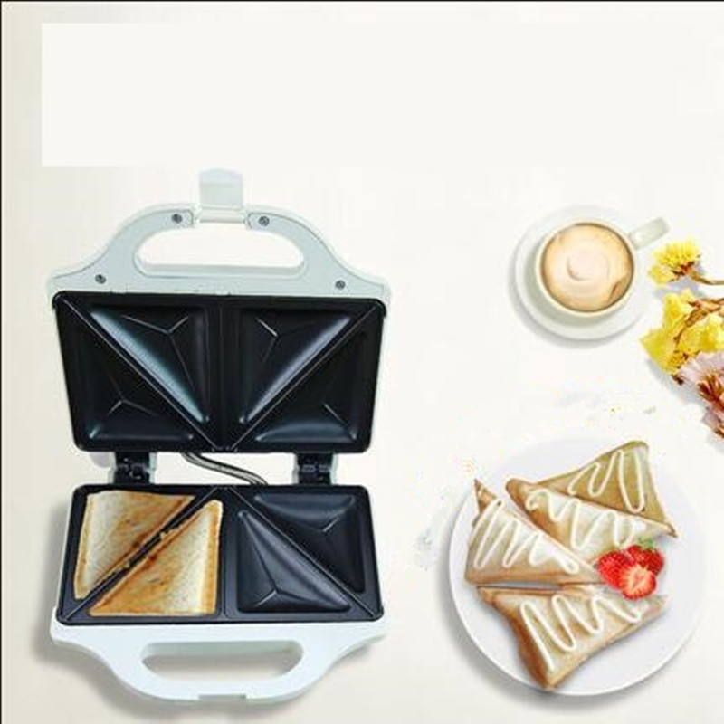 220V Waffle Machine Non-stick Household Electric Sandwich Maker Machine Double Heating DIY Breakfast EU/AU/UK High Quality