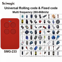 50 pcs Auto scan multi freqüência 280-868 mhz rolling code controle remoto clone duplicador de controle remoto código fixo