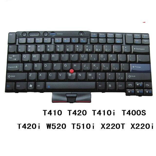 מקלדת חדשה עבור IBM ThinkPad T410 T420 T510 T520 W510 W520 X220