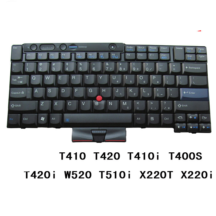 New Keyboard for IBM ThinkPad T410 T420 T510 T520 W510 W520 X220 New Keyboard for IBM ThinkPad T410 T420 T510 T520 W510 W520 X220