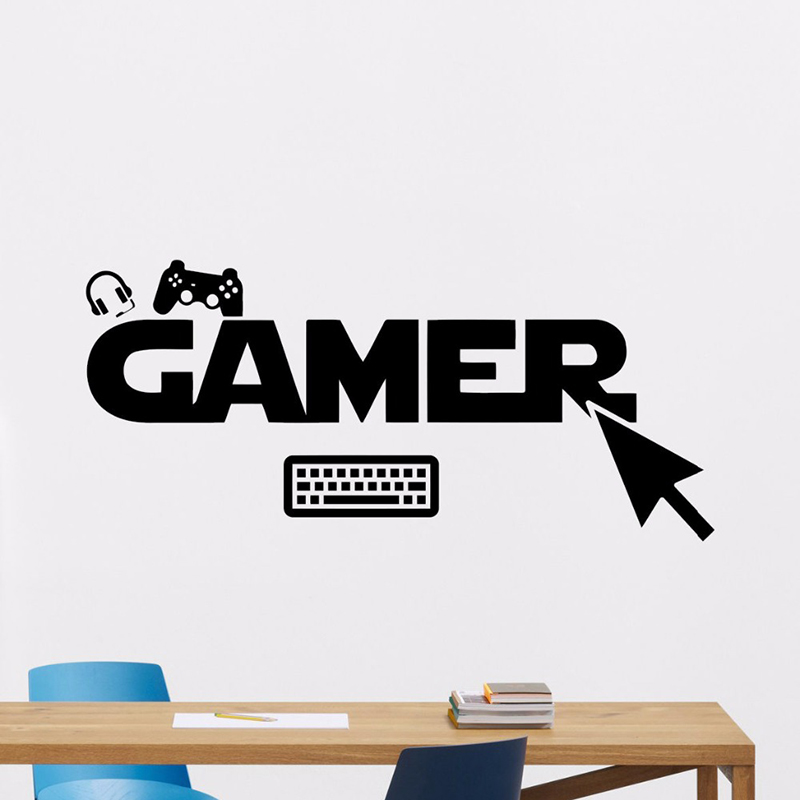 Decoration, Room, Vinyl, Decal, Wall, Mouse