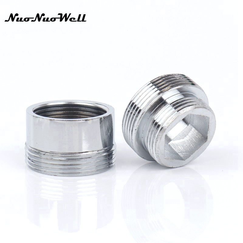 1pc Stainless Steel Male M22 To M18 Thread Connector For Faucet Fittings Water Tap Adapter  Water Purifier Accessory