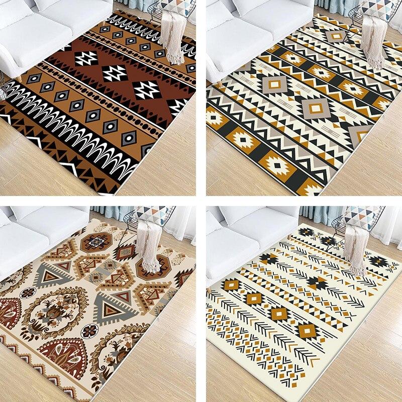 Style turc imprimé tapis tapis Style ethnique impression haute qualité maison tapis moderne salon tapis épaissir salon tapis tapis
