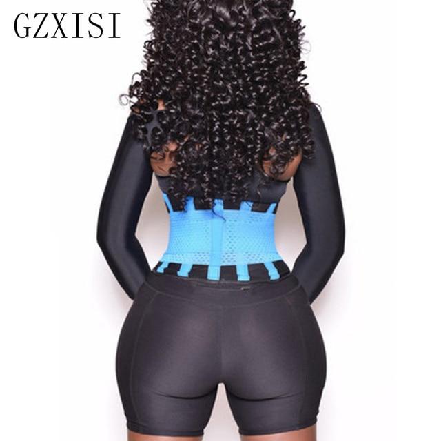 53976eb999b High quality new fashion women hot body shaper slim waist tummy girdle belt waist  trainer corsets fajas fajas reductoras