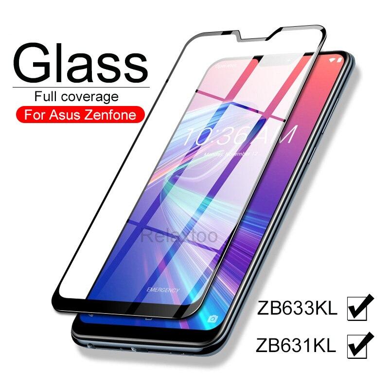 Защитное стекло для Asus Zenfone max pro M2 ZB631KL ZB633KL, закаленное стекло для Asus Zenfone max pro M2, стеклянный чехол, защитная пленка