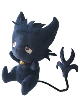 New Cute Cartoon 35cm Servamp Sleepy Ash Black Cat Plush Soft Animal Stuffed Toy For Baby Kids Birthday Gifts Good Quality 1
