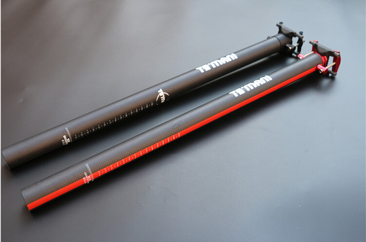 ФОТО  Mountain Bicycle 3K Full Carbon Fibre Matte Seatpost Road Bike  33.9 34.9*580mm