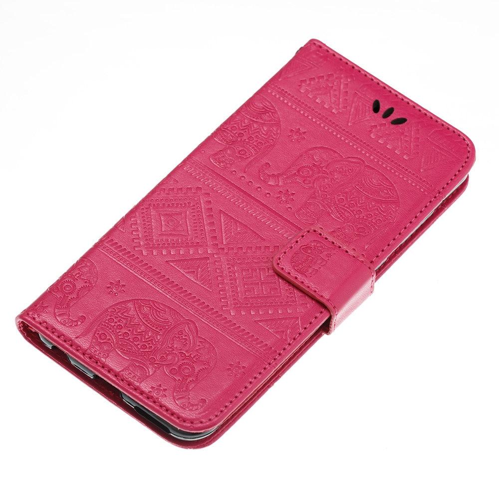 Flip Coque for Huawei NOVA 2 Plus BAC-L21 Elephant case Flip Wallet Leather Cover Phone Case for Huawei NOVA2 Plus BAC L21 Bag