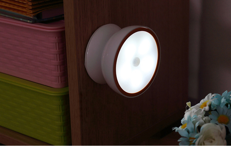 Motion Sensor Light USB Rechargeable Sensing Lights Cordless night light LED wireless for Hallway Bedroom Closet Stairs (7)