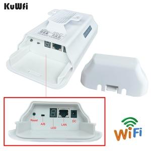 Image 5 - 2 шт. высокомощный 2,4 ГГц уличный мост точка точка CPE предпрограммируемый режим WDS 300 Мбит/с беспроводной мост CPE маршрутизатор 802.11b/G/N