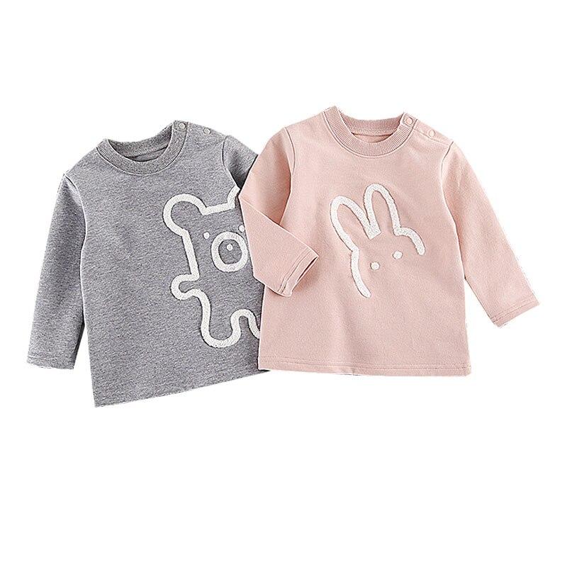 Весенние детские пальто для мальчиков милый кролик животных с принтом медведя верхняя одежда детская Костюмы хлопок Обувь для мальчиков по...