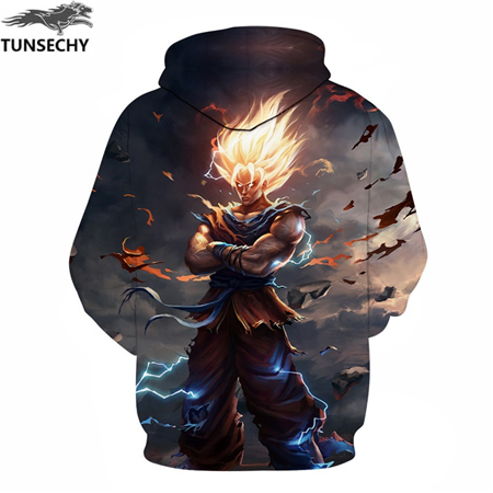 shop Goku Print Men/Women 3D Sweatshirts Print Milk Space Galaxy Hooded Hoodies Unisex with crypto, pay with bitcoin