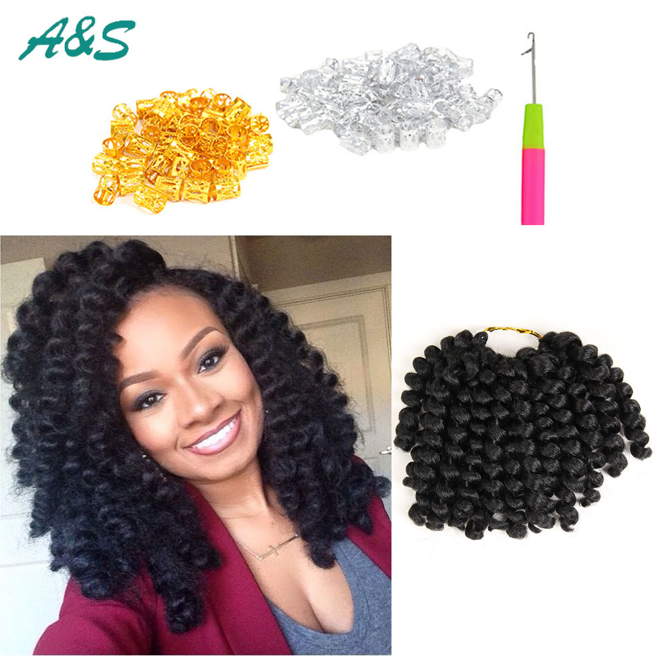 8 Inch 20 Strands Pack Multi Colors Available Heat