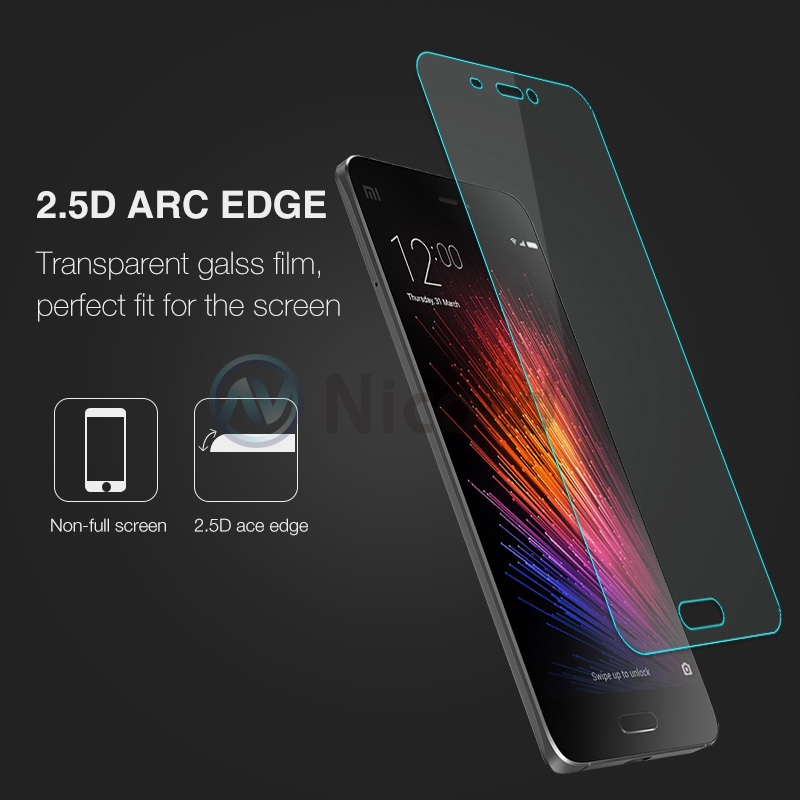 Image 4 - For Xiaomi MI5 5 Tempered Glass Screen Protector 9H 2.5 Safety Protective Film On Xiaomi5 Libra M5 Mi 5 M Five pelicula de vidro-in Phone Screen Protectors from Cellphones & Telecommunications