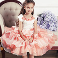 2017 New Children's Clothing Girl Princess Dress Gauze Tutu Dress For Wedding Layered Evening Dress Vestidos De Festa Infantil
