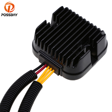POSSBAY Motorcycle Voltage Rectifier Regulator for Polaris RZR 4 900 Motorbike Metal