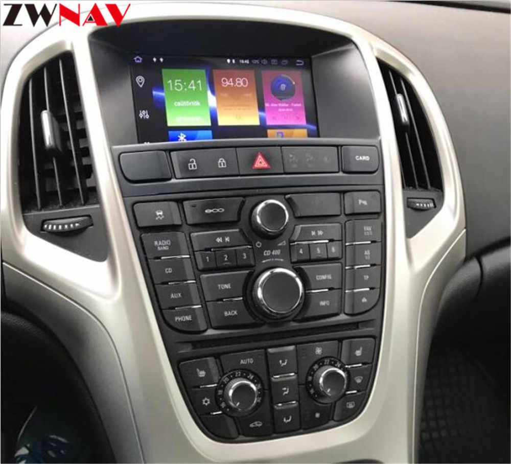 Android 9,0 8 ядерный Автомобильный gps навигационный экран для Opel Vauxhall Holden Astra J радио android 2010-2013 CD300 CD400 Бесплатная камера