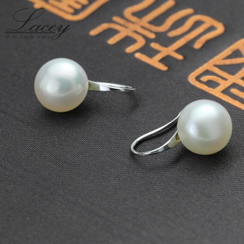 100% ægte perle øreringe, ferskvandsperle øreringe til kvinder - Smykker - Foto 5