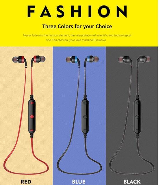 Nuevo llega a960bl awei auricular bluetooth inalámbrico de auriculares para el iphone 6 6 s para samsung note 7 para xiaomi pro todo Smartphones