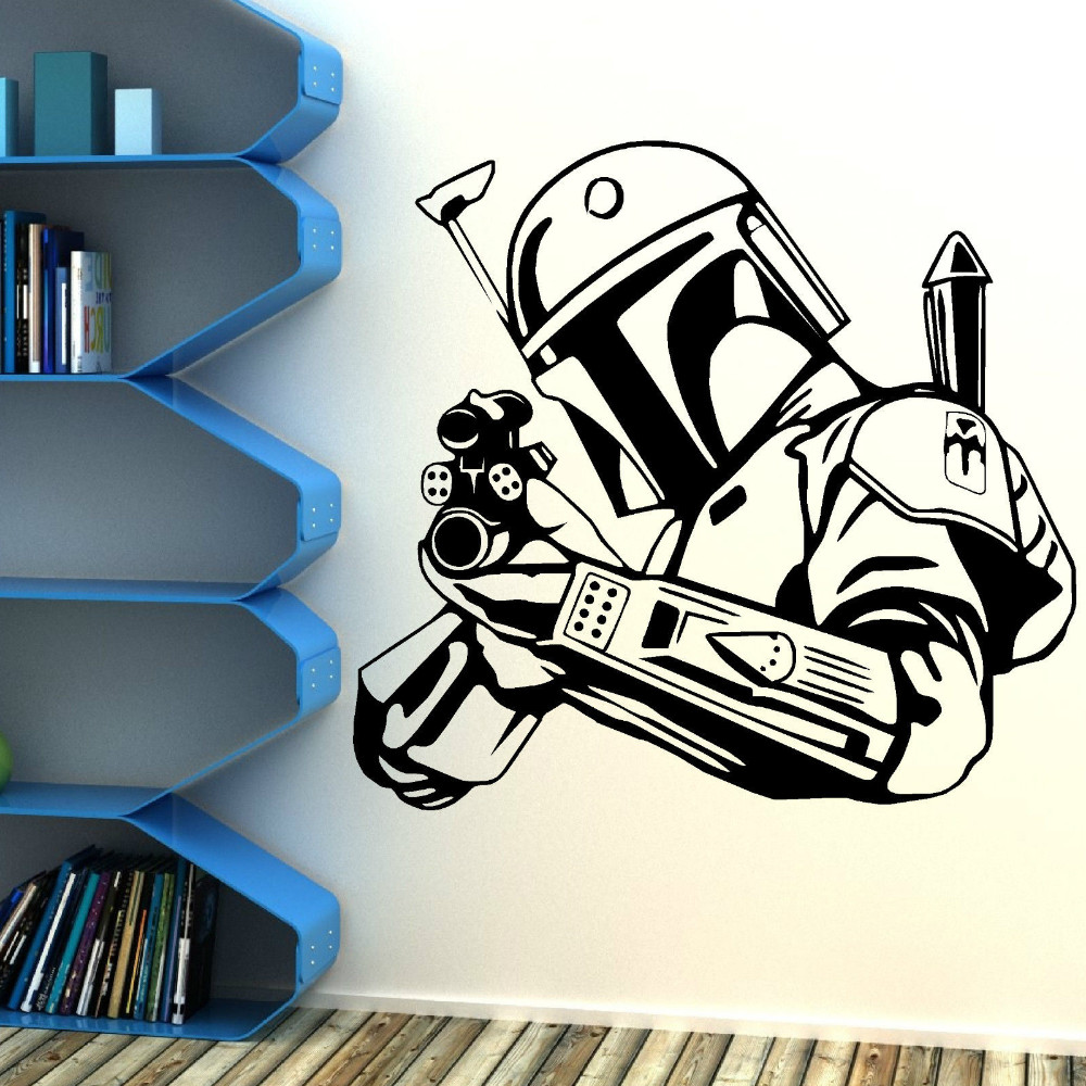 The Vinyl Wall Decals Star War Siers Decal Becomes Removable Vinyl Art Homedecor Wall Stickers Wall Stickers From Home Garden Vinyl Wall Decals Star War Siers Decal Becomes Removable Vinyl baby Star Wars Decals