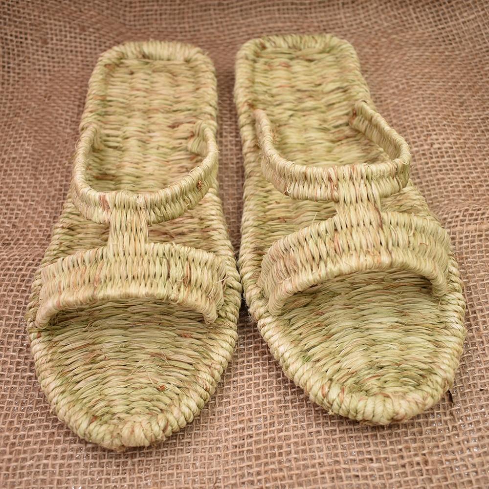 Chaussures Personnalisé Femmes Et Antique Main Shoes Armure Style La D'été À Sandales Version Straw Travail Chinois Hommes Collection Pour 7q6w848x