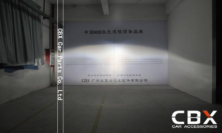 3.0 WST Bi Xenon Lensa Proyektor Jenis Perak Mengkilap Menggunakan - Lampu mobil - Foto 6
