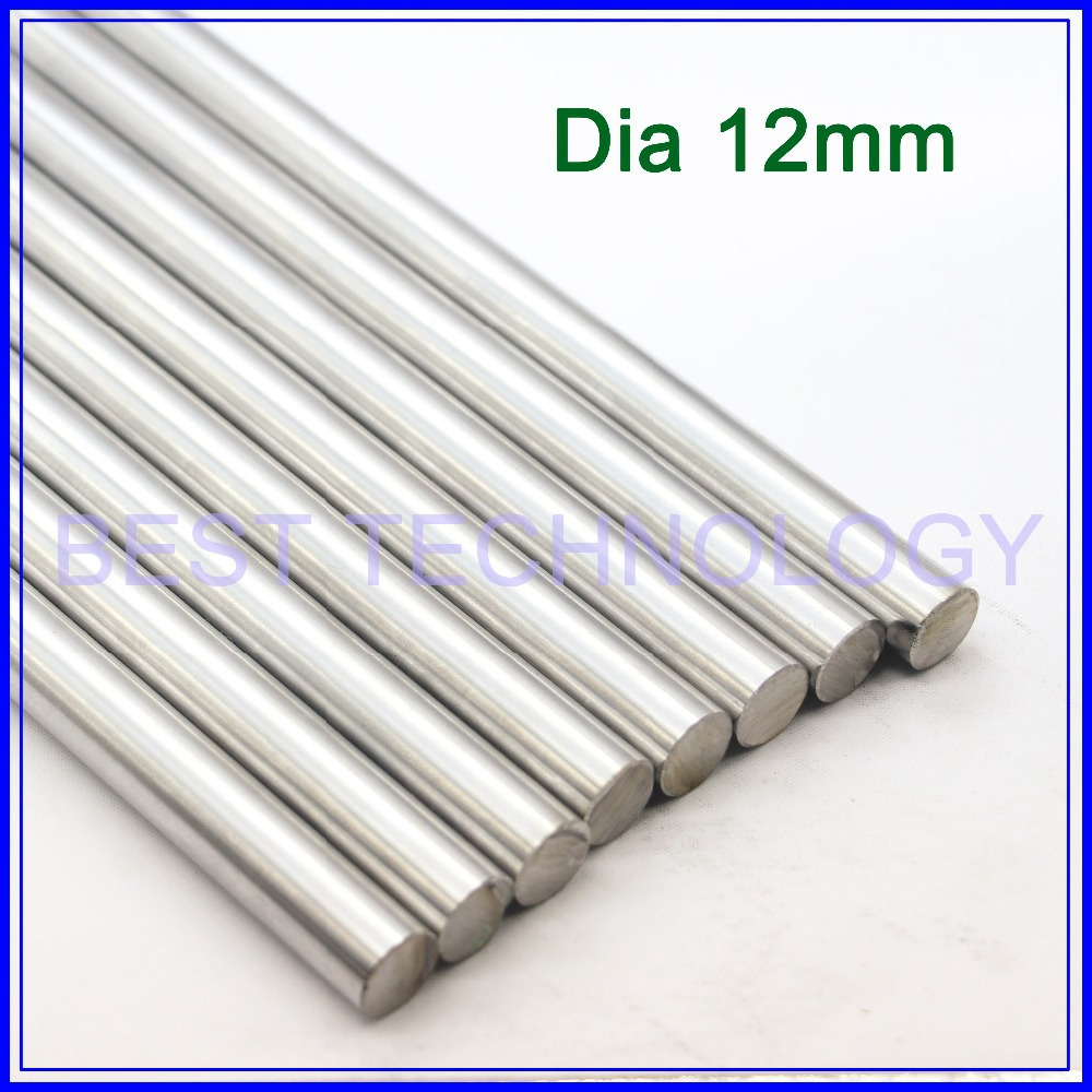 WCS Dia12mm-L400mm Chrome Plated Cylinder Linear Rail Round Rod Shaft Linear Motion Shaft ,high quality!!! nitro triple chrome plated abs mirror 4 door handle cover combo