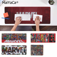 лучшая цена MaiYaCa Custom Skin Marvel Comfort Mouse Mat Gaming Mousepad Free Shipping Large Mouse Pad Keyboards Mat