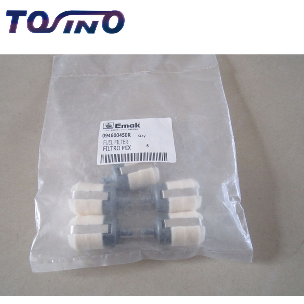 medium resolution of 2pcs genuine oleo mac fuel filter fits for 43 brush cutter lawn mower grass trimmer spare parts 094600450r