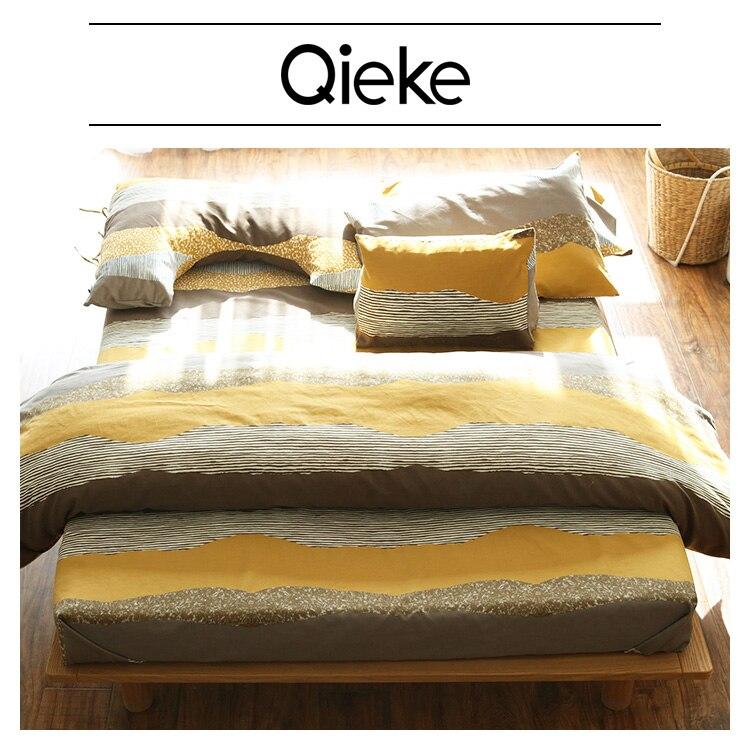 5f1a0e2e32c18 Marka Modern Scenic 100% Pamuk yatak set çarşaf/nevresim/yastık kılıfı Kral  Ev Tekstili rahat yatak setleri