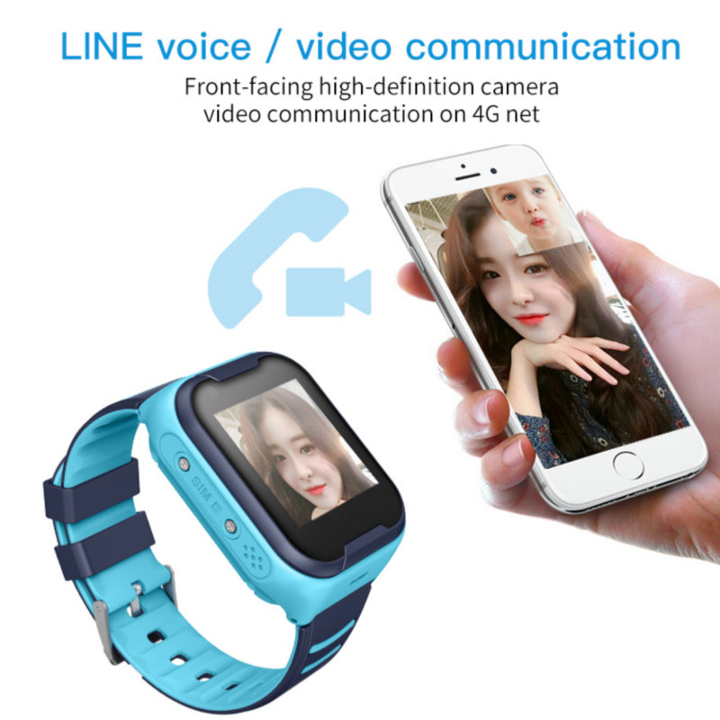 Image 2 - Greentiger 4G Network A36E Wifi GPS SOS Smart Watch Kids Video  call IP67 waterproof Alarm Clock Camera Baby Watch VS Q50 Q90Smart  Watches