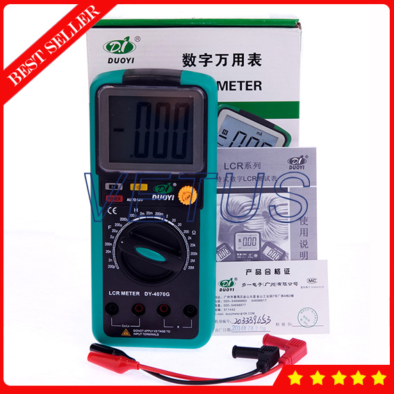 DY4070G Digital Capacitance LCR Meter lcr meter dy4070g dy6243g dy6013g