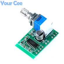 Super Mini PAM8403 DC 5V 2 Channel USB Digital Audio Amplifier Board Module 2 * 3W Volume Control with Potentionmeter Switch(China)