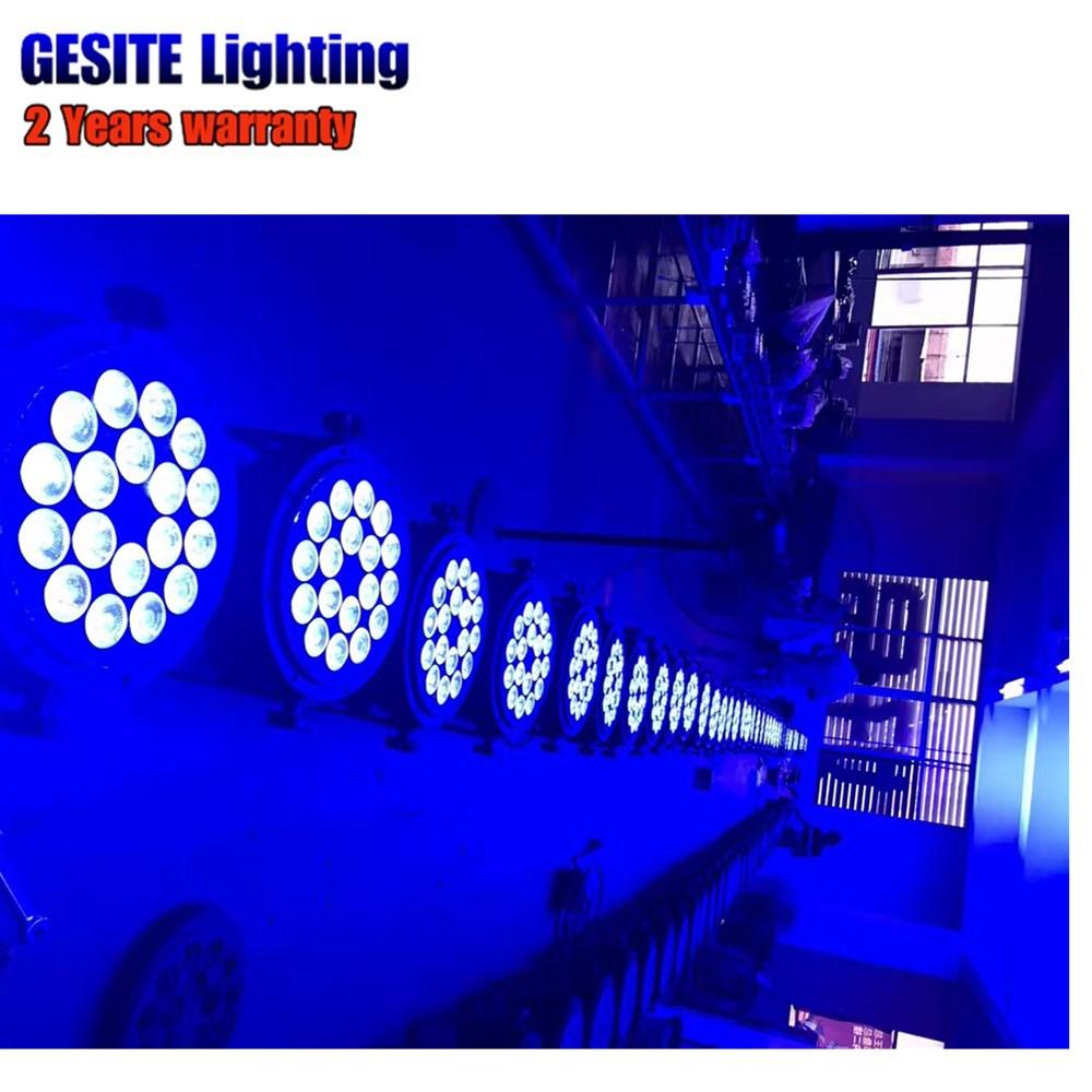 4 pçs lote ip65 18X18 w LED
