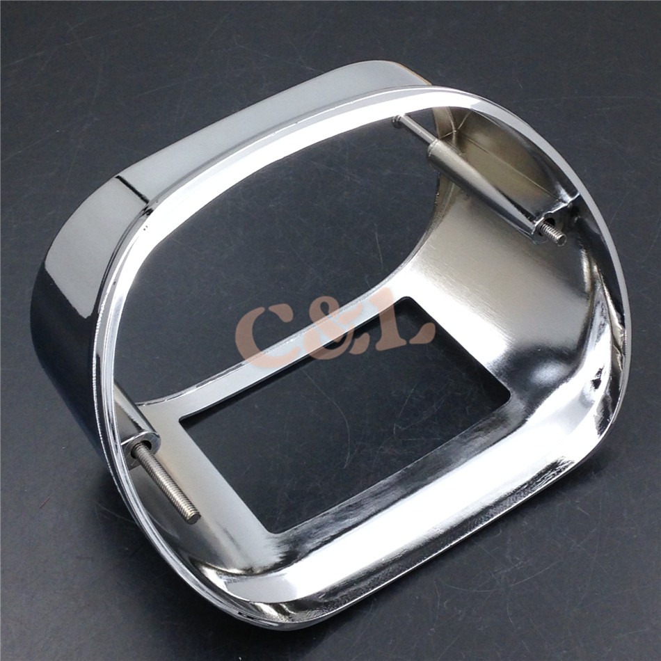 Covers & Ornamental Mouldings Automobiles & Motorcycles 2019 Fashion Zorbyz Motorcycle Chrome Tail Lamp Collar Cover For Harley Touring Models Xl Dyna Flstf Flhrc Flhtc