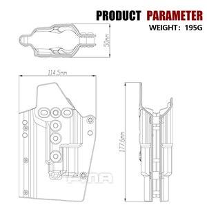 Image 5 - FMA G17L SF 라이트 베어링 홀스터 허리 퀵 권총 홀스터 G17/G19 및 X300 램프 용 1329