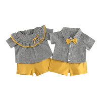 2018 Fashion Summer Baby Boys Girls Sibling Sets Children Kids His And Hers Clothing Set Top