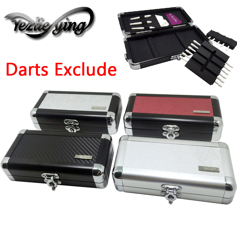 Professional Portable Aluminum Darts Box Dart Carry Case Holder Storage For Soft Darts /Hard Darts High Quality
