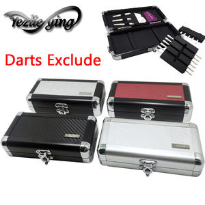 Professional Portable Aluminum Darts Box Dart Carry Case Holder Storage for Soft Darts Hard Darts High Quality