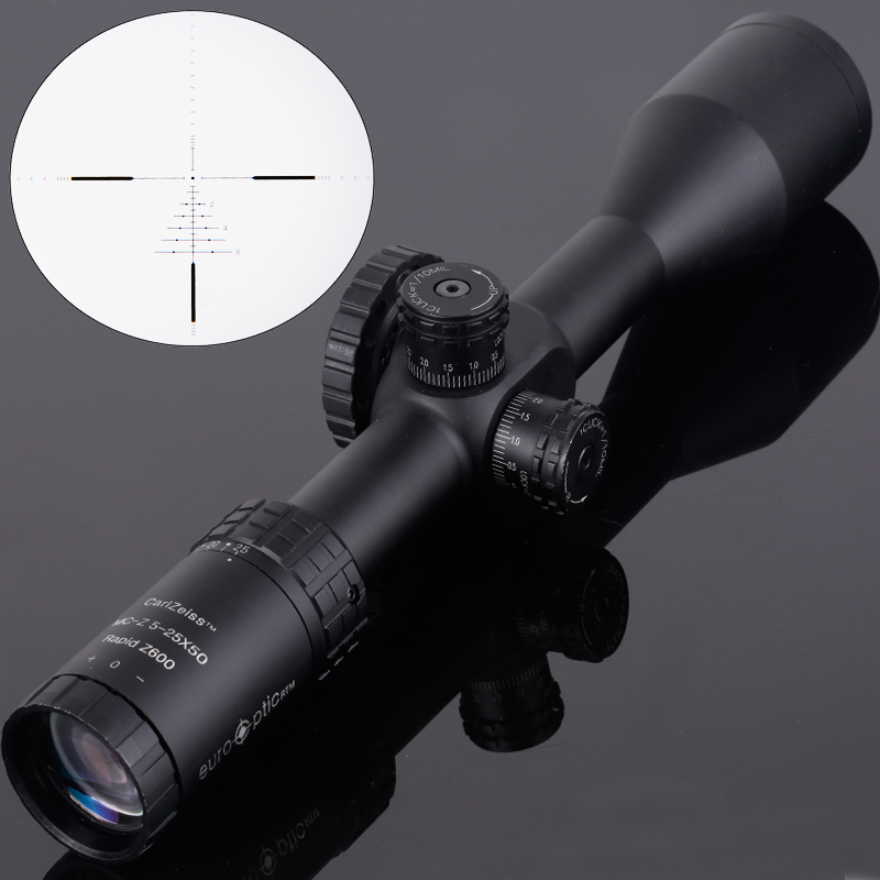 Carl ZEISS 5-25X50 FFP Optics Riflescope Side Parallax Tactical Hunting Scopes Rifle Scope Mounts For Airsoft Sniper Rifle new carl zeiss 5 25x50 ffp optics compact riflescope air rifle optics sniper scope hunting scopes with 20mm 11mm rail mounts