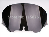 Free Shipping ABS Black 4 1 2 Windshield Windscreen For Harley FLHT FLHTC FLHX Touring